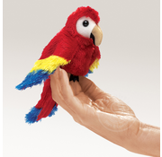 Folkmanis Folkmanis Scarlet Macaw Finger Puppet