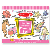 Melissa & Doug Melissa & Doug Jumbo Multi-Theme Coloring Pad Pink
