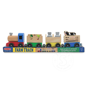 Melissa & Doug Melissa & Doug Wooden Farm Train