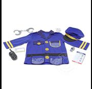 Melissa & Doug Melissa & Doug Role Play Police Office Dress Up