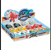 Toysmith Pull Back Sky Shark Propeller Plane