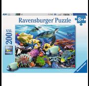 Ravensburger Ravensburger Ocean Turtles Puzzle 200pcs XXL