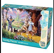 Cobble Hill Puzzles Cobble Hill The Wizard of Oz Family Puzzle 350pcs