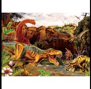 Cobble Hill Puzzles Cobble Hill Dino Story Tray Puzzle 35pcs