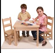 Melissa & Doug Melissa & Doug Wooden Table & Chairs Set