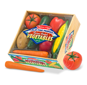Melissa & Doug Melissa & Doug Vegetables Crate Play Food