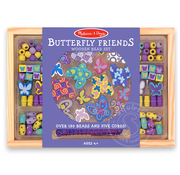 Melissa & Doug Melissa & Doug Butterfly Friends Wooden Beads Set