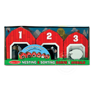 Melissa & Doug Melissa & Doug Nesting & Sorting Barn & Animals