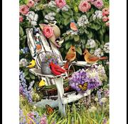 Cobble Hill Puzzles Cobble Hill Summer Adirondack Birds Puzzle 1000pcs