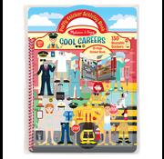 Melissa & Doug Melissa & Doug Puffy Sticker Activity Book - Cool Careers