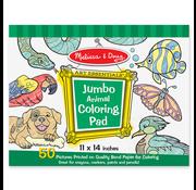 Melissa & Doug Melissa & Doug Jumbo Animal Coloring Pad