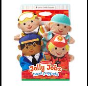 Melissa & Doug Melissa & Doug Jolly Jobs Hand Puppets