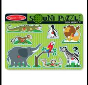 Melissa & Doug Melissa & Doug Zoo Animals Sound Peg Puzzle