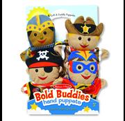 Melissa & Doug Melissa & Doug Bold Buddies Hand Puppets