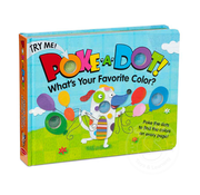 Melissa & Doug Melissa & Doug Poke-A-Dot Book What's Your Favorite Color?