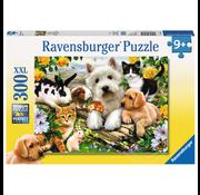 Ravensburger Ravensburger Happy Animal Buddies Puzzle 300pcs XXL