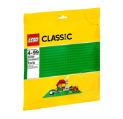 "LEGO® LEGO® Classic Green Baseplate (10""x10"")"