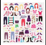 Melissa & Doug Melissa & Doug Puffy Sticker Activity Book - Day of Glamour