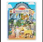 Melissa & Doug Melissa & Doug Puffy Sticker Activity Book - Riding Club