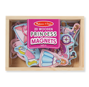 Melissa & Doug Melissa & Doug 20 Wooden Princess Magnets in a Box
