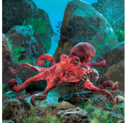 Folkmanis Folkmanis Red Octopus Puppet