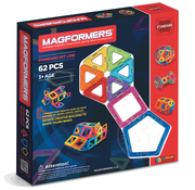 Magformers Magformers Standard Magnetic Building Set 62pcs