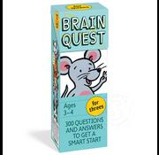 Workman Publishing Brain Quest for Threes