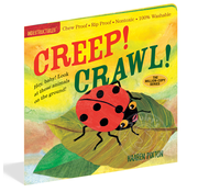 Workman Publishing Indestructibles Book Creep! Crawl!