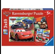 Ravensburger Ravensburger Disney Pixar Cars Worldwide Racing Fun Puzzle 3 x 49pcs