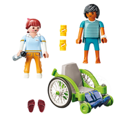Playmobil Playmobil Patient in Wheelchair