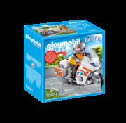 Playmobil Playmobil Emergency Motorbike