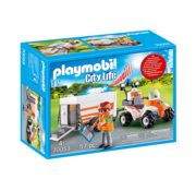 Playmobil Playmobil Rescue Quad with Trailer RETIRED