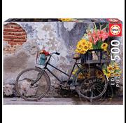 Educa Educa Bicycle with Flowers Puzzle 500pcs