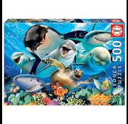 Educa Educa Underwater Selfies Puzzle 500pcs