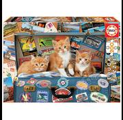 Educa Educa Travelling Kittens Puzzle 200pcs