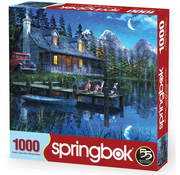 Springbok Springbok Moonlit Night Puzzle 1000pcs