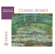 Pomegranate Pomegranate Claude Monet: The Japanese Footbridge Puzzle 1000pcs