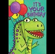 T-Rex-Cellent Card