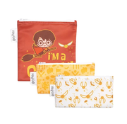Bumkins Reusable Snack Bags 3 pack Harry Potter Quidditch™