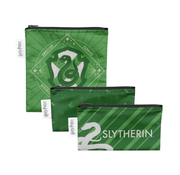 Bumkins Reusable Snack Bags 3 pack Harry Potter Slytherin™