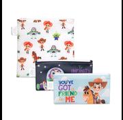 Bumkins Reusable Snack Bags 3 pack Disney/Pixar Toy Story