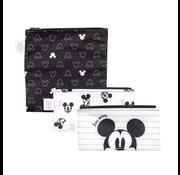 Bumkins Reusable Snack Bags 3 pack Disney Love Mickey