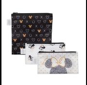 Bumkins Reusable Snack Bags 3 pack Disney Love Minnie