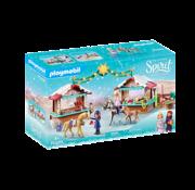 Playmobil Playmobil Spirit III A Miradero Christmas RETIRED