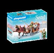 Playmobil Playmobil Spirit III Winter Sleigh Ride RETIRED