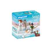 Playmobil Playmobil Spirit III Snow Time with Snips and Señor Carrots RETIRED