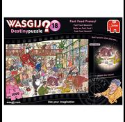 Jumbo Jumbo Wasgij Destiny 18 Fast Food Frenzy Puzzle 1000pcs