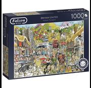 Falcon Falcon Britain United Puzzle 1000pcs