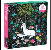 Mudpuppy Mudpuppy Unicorn Reading Puzzle 500pcs