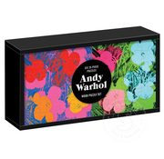 Galison Galison Andy Warhol: Flowers Wood Puzzle 6 x 25pcs